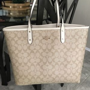 Coach interchangeable large tote